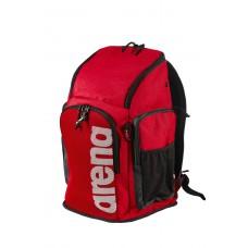 002436 400 - TEAM BACKPACK 45L / RED-MELANGE