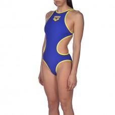 Costume Intero Donna Arena One Biglogo / NEON BLUE-YELLOW