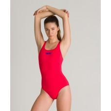 2A242 480 - Costume Intero Donna Swim Pro / FLUO RED - NEON BLUE