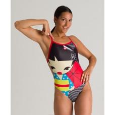 002835 540 - Costume Intero Donna Crazy Kokeshi